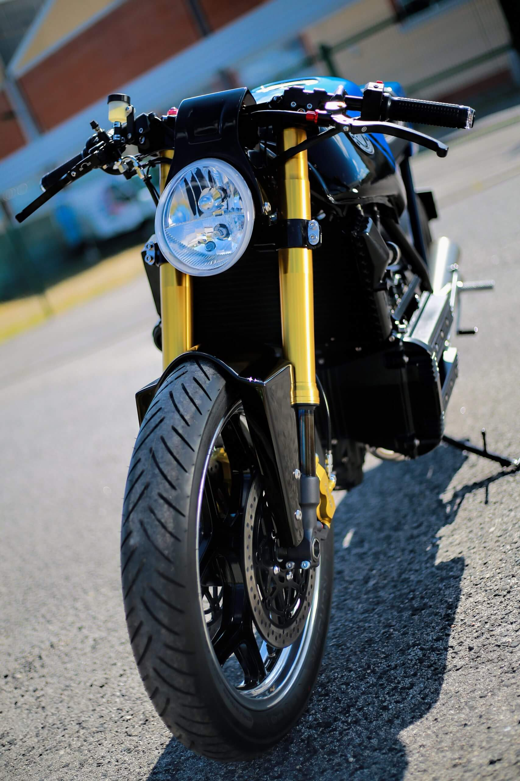Blue Moon Concept Motorcycle
